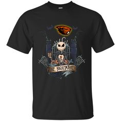Halloween oregon state beavers T shirts The Nightmare Hoodies Sweatshirts