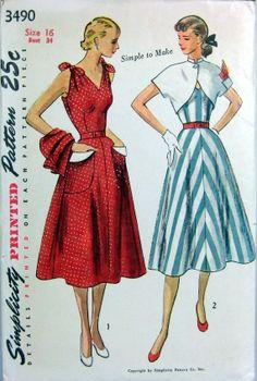 "Vintage Sundress ""Rita"" with Bolero on Etsy, $152.00"