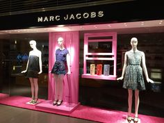 LK By Lincoln Keung - MARC JACOBS Window Display - The LANDMARK - Hong Kong