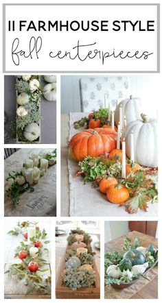 Inspiration for your fixer upper or farmhouse style fall centerpieces or tablsecapes. Can even be using for Thanksgiving tables capes! Thanksgiving Decorations, Seasonal Decor, Table Decorations, Thanksgiving Tablescapes, Centerpiece Ideas, Thanksgiving Ideas, Cowboy Thanksgiving, Thanksgiving Wedding, Cowboy Christmas