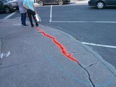 routing Sidewalk Repair, Street