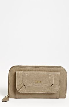 Chloé 'Paraty' Leather Wallet...a serious contender.