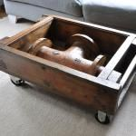 Vintage Foundry Mold Coffee Table