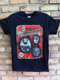 Freak show Shirt  Sideshow Shirt Freakshow Shirt Horror Shirt Circus shirt T-Shirt