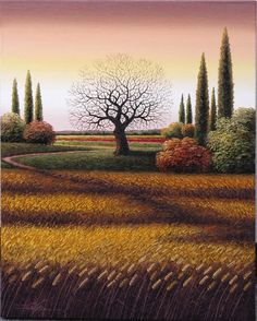 My Turn's Coming - Myung Mario Jung #landscape #tree #art