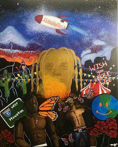 Image result for astroworld painting Painting
