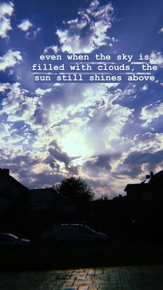 Sky Quotes Clouds, Cloud Quotes, Sky Captions, Sunset Quotes Instagram, Make You Happy Quotes, Positive Wallpapers, Night Sky Wallpaper, Quotes Lockscreen, Night Clouds