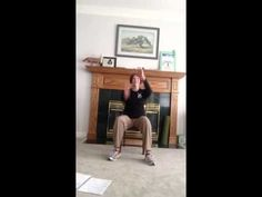 ▶ Happy, Zumba (r) Gold seated on the chair - YouTube