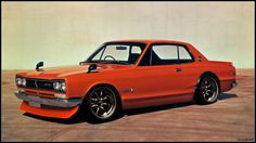 1972 Nissan Skyline 2000 GTR | Se produjeron 1945 unidades del GT-R (PGC10 y KPGC10) hasta 1972 ...