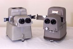 Realist Stereo slide projector