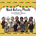 Black History Month for children in kindergarten and first grade explained with a non fiction story. This unit also contains 17 unique templates fo...