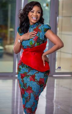 African Print Clothing, African Print Dresses, African Print Fashion, Africa Fashion, African Prints, Latest African Fashion Dresses, African Dresses For Women, African Attire, Latest African Styles
