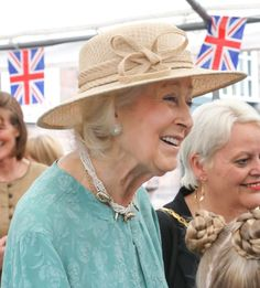 July 19, 2019 | Royal Hats Princess Alexandra, Princess Stephanie, Red Cross Society, Camille Gottlieb, Black Pipe, Red Feather, Amazing Red, Duchess Of Cornwall, Summer Photos