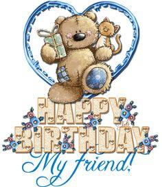Joyeux anniversaire mon ami