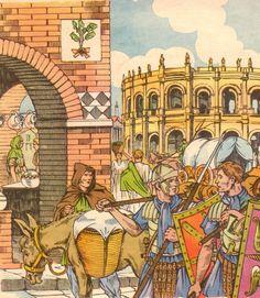 Partout, les Romains