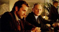 Bradley Cooper as Will Tippin & Victor Garber as Jack Bristow