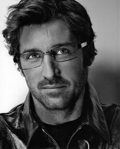 Patrick Dempsey...holy cow he looks different with glasses!!