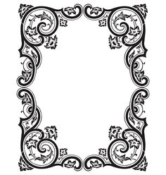Free Vector | Antique frame engraving vector 149688 - by milalala on VectorStock®