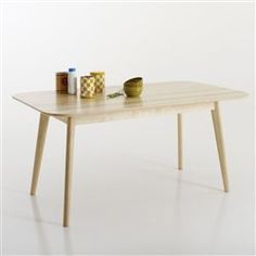 Table rectangulaire, 6 personnes, Jimi