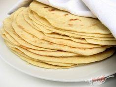 Domáca tortilla | NajRecept.sk Slovak Recipes, Czech Recipes, Russian Recipes, Ethnic Recipes, Savoury Baking, No Cook Meals, Food Hacks, Food Dishes, Ciabatta