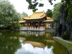 chinese garden zurich, zhe garden is a gift by zurich's chinese partner town kunming, dedicated to the three friends of winter.the park is one of the most beautiful chinese gardens outside of china