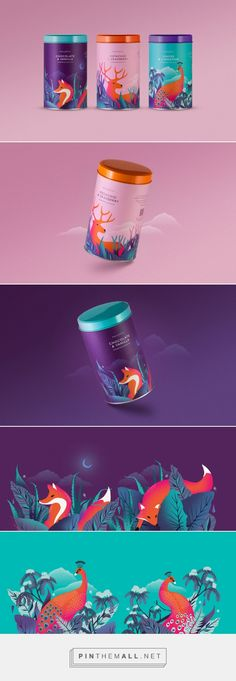 Check Out The Beautiful and Bold Look of These Biscuit Tins — The Dieline | Packaging & Branding Design & Innovation News - created via https://pinthemall.net