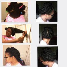 Flat Twist Updo @pinkstarnute - http://community.blackhairinformation.com/hairstyle-gallery/braids-twists/flat-twist-updo-pinkstarnute/
