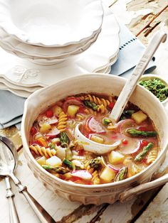 French Vegetable Soup au Pistou