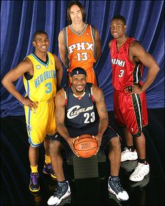 All NBA. Notice they all have 3 in their jersey Number