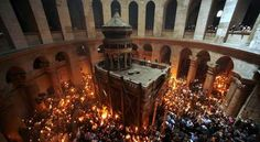 The Church of the Holy Sepulchre Jerusalem.