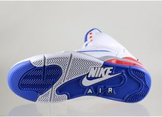 online retailer 4d732 33c74 Nike Air Command Force (White  Lion Blue - Bright Crimson - Wolf Grey)