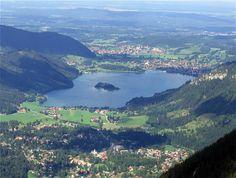 Schliersee, Bavaria/Germany Blick vom Jägerkamp