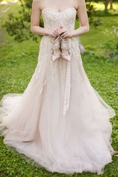 I hope I have the money to buy Monique Lhuillier dresses and Valentino shoes for my bridesmaids  J'adore