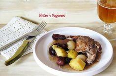 Pato al horno con sidra. Si te gusta el Pato esta receta te encantará!