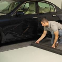 Drymate® Garage Floor Mat Keep garage floors clean & dirt out of your home.