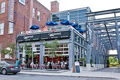 images of restaurants with garage door patios | Toronto review – Cinquecento Trattoria | Gone to Swan