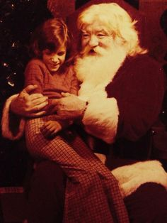 A throwback with Santa!