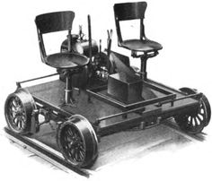 Description Roadmaster Inspection Car Fairmont 1921jpg