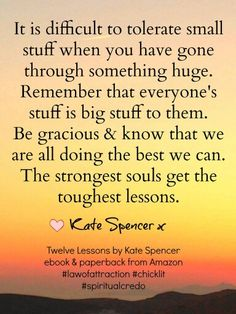 Twelve lessons by Kate Spencer Great Quotes, Inspirational Quotes, Self Reminder, Meaningful Quotes, Get Over It, Food For Thought, Law Of Attraction, Wisdom, Thoughts
