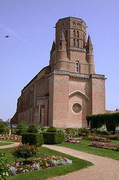 Cathédrale Saint-Alain de Lavaur. Midi-Pyrénées
