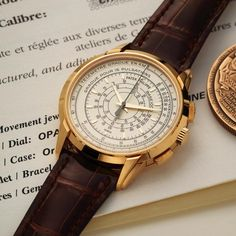 Patek Philippe [NEW-OLD-STOCK 2015'] 175th Anniversary Collection Multi-Scale Chronograph 5975R-001 at HK$678,000. #PP #PATEK #PATEKPHILIPPE #MultiScaleChronograph #Multi_Scale_Chronograph #PPMultiScaleChronograph #PATEKPHILIPPEMultiScaleChronograph #PATEKMultiScaleChronograph #175thAnniversary #PP175thAnniversary #5975R #5975R_001 #5975R001