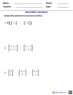worksheet. Matrix Worksheets. Grass Fedjp Worksheet Study Site