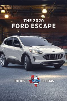 The Completely Reimagined 2020 Ford Escape Comes With Innovative Technology For A Smarter Way To Drive From Waze And Alexa In 2020 Ford Escape Ford Ford Motor Company