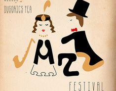 Adobe Illustrator, Jazz, Behance, Gallery, Illustration, Creative, Fictional Characters, Roof Rack, Jazz Music