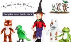 All your favourite soft toy characters from TV and film. Julia Donaldson plushies, as well as cute stationery sets by Hello Kitty, LOL Surprise and Happy News. Room On The Broom, Cute Stationery, Toy Store, Plushies, Hello Kitty, Christmas Ornaments, Toys, Holiday Decor, Gifts