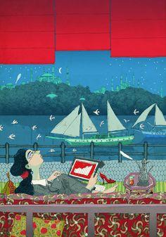 #DavidPintor #lifestyle #travel #illustration #lindgrensmith