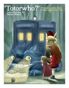 Doctor Who/Studio Ghibli