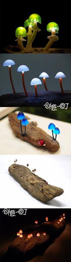mushroom lamps