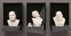 Zhanna Martin. Figurative sculptures with a humorous twist. - Art People Gallery