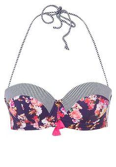 watercult - BOHEMIAN - Bikini top - indigo blossom